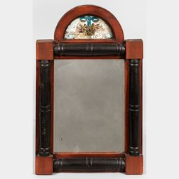 Two Painted Split-baluster Mirrors with Reverse-painted Tablets