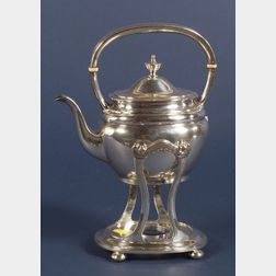Arthur Stone Sterling Kettle on Stand