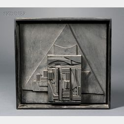 Louise Berliawsky Nevelson  (American, 1900-1988)      Untitled/Sculpture for The American Book Award