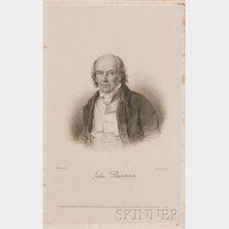 J. Thompson (British, 18th/19th Century), After J. Derby (British, fl. circa 1820)      John Flaxman.