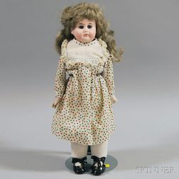 French Bisque Shoulder Head Doll