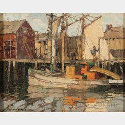 Frederick John Mulhaupt (American, 1871-1938)      A Gill Netter