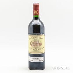 Pavillon Rouge 2000, 1 bottle