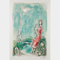 Marc Chagall (Russian/French, 1887-1985)      Maternité rouge