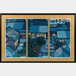 Clifton Karhu (1927-2007), Nishjin Roofs
