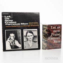 Evans, Walker (1903-1975) Let Us Now Praise Famous Men.