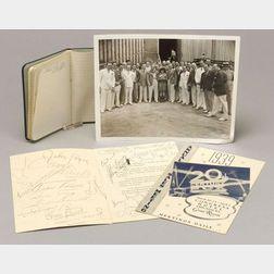1941 Autographed 20th Century Fox Studios Annual Sales Meeting Program