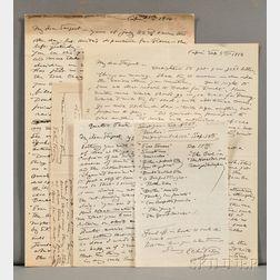 Vedder, Elihu (1836-1923) Original Correspondence, c. 1914.