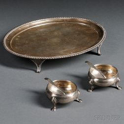 Group of Georgian Silver Items