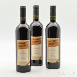 Olivers Taranga Vineyards Shiraz 1999, 12 bottles