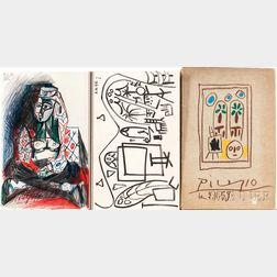 After Pablo Picasso (Spanish, 1881-1973)      Spiral Notebook Facsimile from Carnet de la Californie