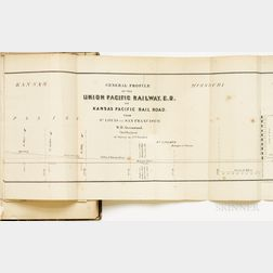 Palmer, William J. (1836-1909) Report of Surveys Across the Continent in 1867-68, on the Thirty-fifth and Thirty-second Parallels, for