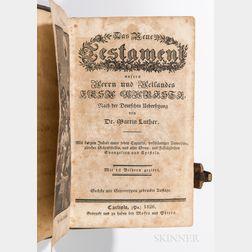 Leather-bound Testament