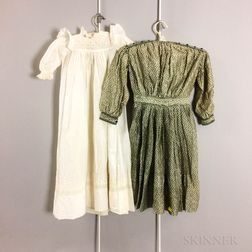 Two Pieces of Vintage Children's Clothing