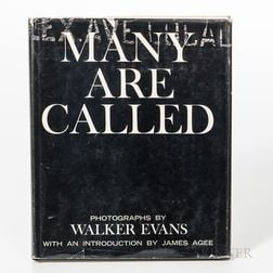 Evans, Walker (1903-1975) Many Are Called.
