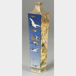 Square Satsuma Vase