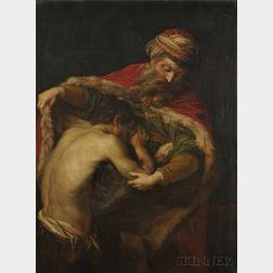 After Pompeo Girolamo Batoni (Italian, 1708-1787)      The Return of the Prodigal Son
