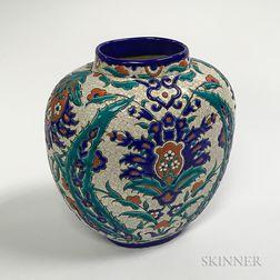 Art Deco RV Larouch Ceramic Vase