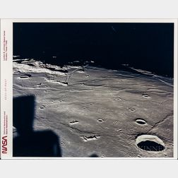 Apollo 11, Images of the Moon, Four Photographs.