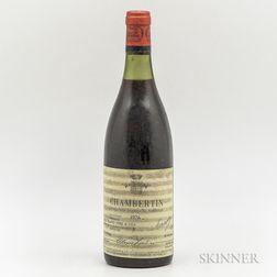 Trapet Chambertin 1976, 1 bottle