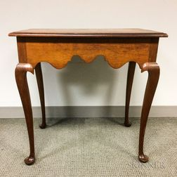 Queen Anne-style Cherry Tea Table