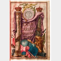 Patent of Nobility, Carta Ejecutoria, Spain, 1773.
