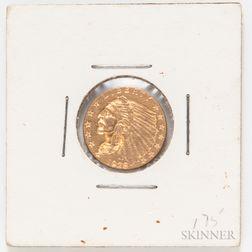 1928 $2.50 Indian Head Quarter Eagle Gold Coin
