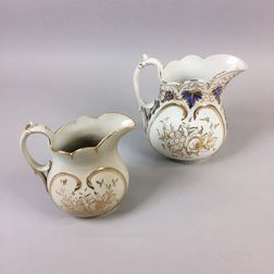 Two Bennington Ceramic Pitchers