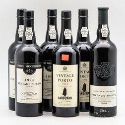 1994 Vintage Port, 6 bottles