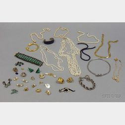Large Group of Estate and Costume Jewelry