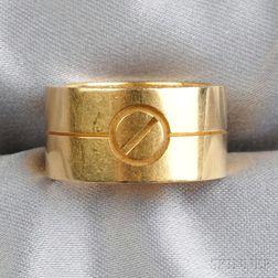 """18kt Gold """"Love"""" Band, Cartier"""