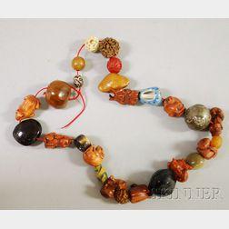 Approximately Twenty-six Ojime Beads
