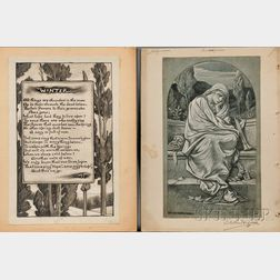 Vedder, Elihu (1836-1923) Twenty-six Halftone Illustrations: