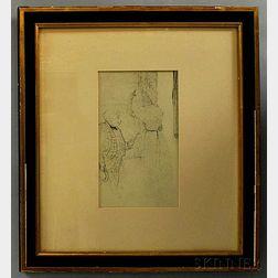 After Henri de Toulouse-Lautrec (French, 1864-1901)      Yvette Guilbert