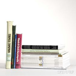 Collection of Clock Books and Catalogs