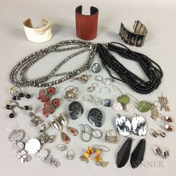 Group of Vintage and Costume Jewelry
