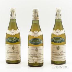 Antonin Guyon Meursault Charmes Les Charmes Dessus 1978, 3 bottles