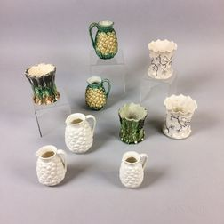 Nine Bennington Ceramic Vases and Jugs