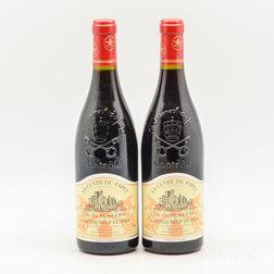 Clos du Mont Olivet Chateauneuf du Pape La Cuvee du Papet 2003, 2 bottles