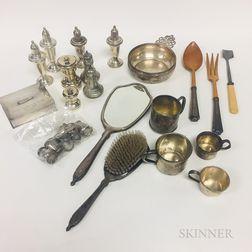 Group of Silver Tableware