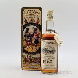 Glen Moray 25 Years Old 1965, 1 750ml bottle (oc)