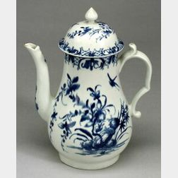 Worcester Porcelain Dr. Wall Period Coffeepot and Cover