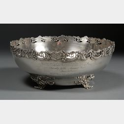Dominick & Haff Sterling Trophy Punch Bowl