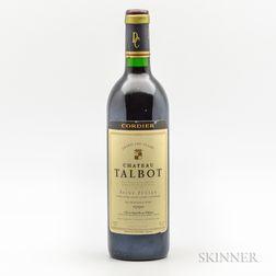 Chateau Talbot 1990, 1 bottle