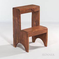 Shaker Pine Step Stool