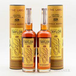 Colonel EH Taylor Single Barrel, 2 bottles (ot)