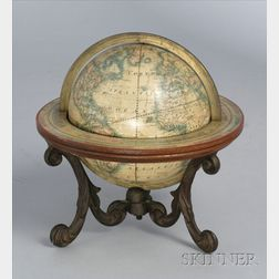6-inch American Terrestrial Globe by Merriam, Moore & Co.