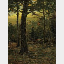 Charles Warren Eaton  (American, 1857-1937)      Evening Glow