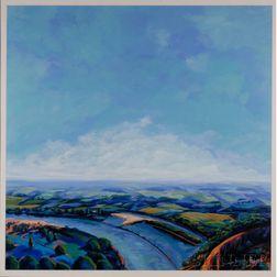 Henri Linton (American, 20th/21st Century)      Arkansas Landscape #24