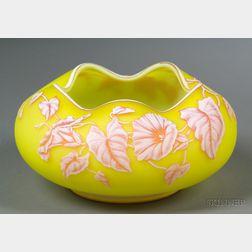 Webb Cameo Glass Bowl